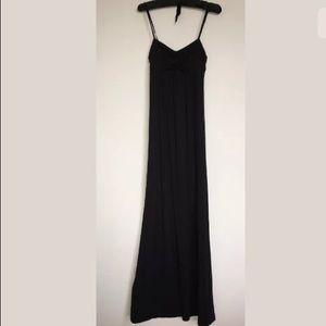Nicole Miller New York black maxi dress